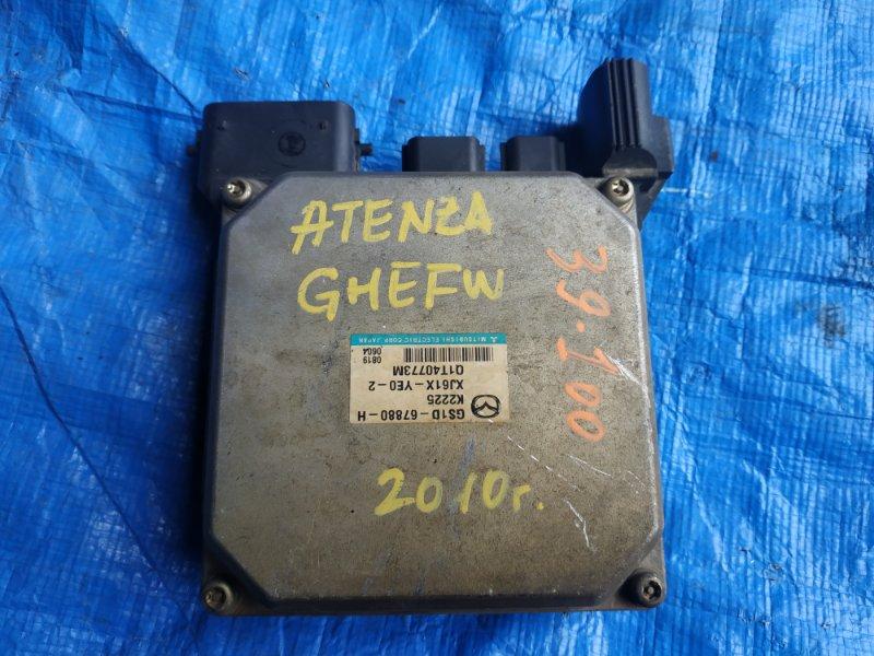 Блок управления рулевой рейкой Mazda Atenza GHEFW GS1D-67880-H (б/у)