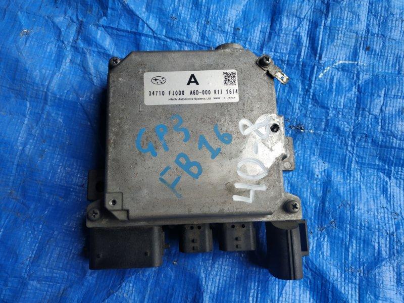 Блок управления рулевой рейкой Subaru Impreza GP3 FB16 34710 FJ000 (б/у)