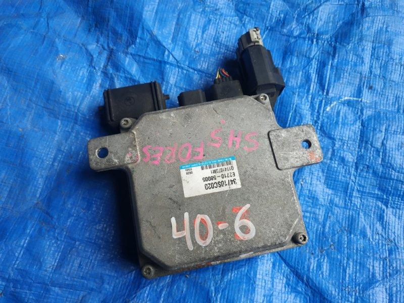 Блок управления рулевой рейкой Subaru Forester SH5 EJ20 34710-SC020 (б/у)