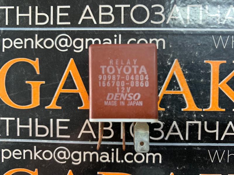 Реле Toyota 90987-04004 (б/у)