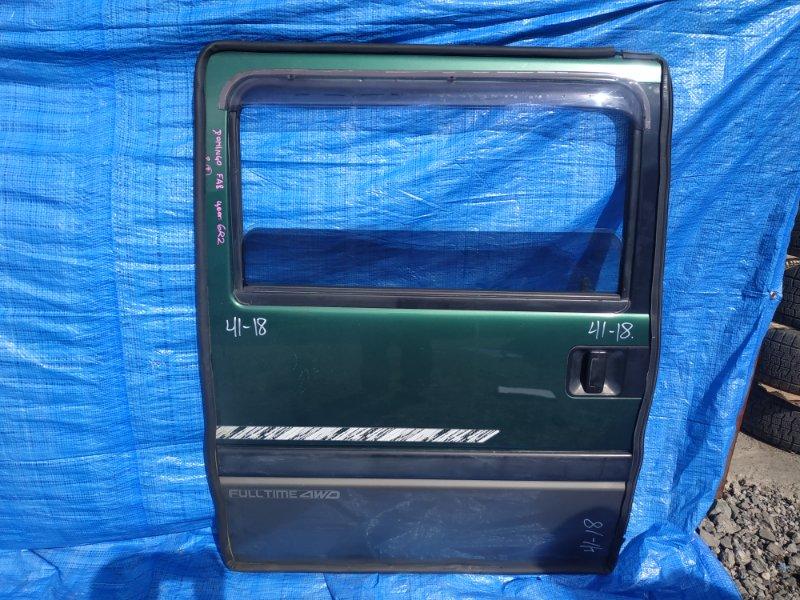 Дверь Subaru Domingo FA8 EF12 задняя правая ЦВЕТ 6R2 (б/у)