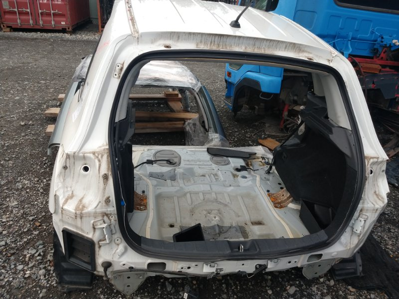 Накладка замка багажника Mitsubishi Rvr GA4W 4J10 2012 (б/у)