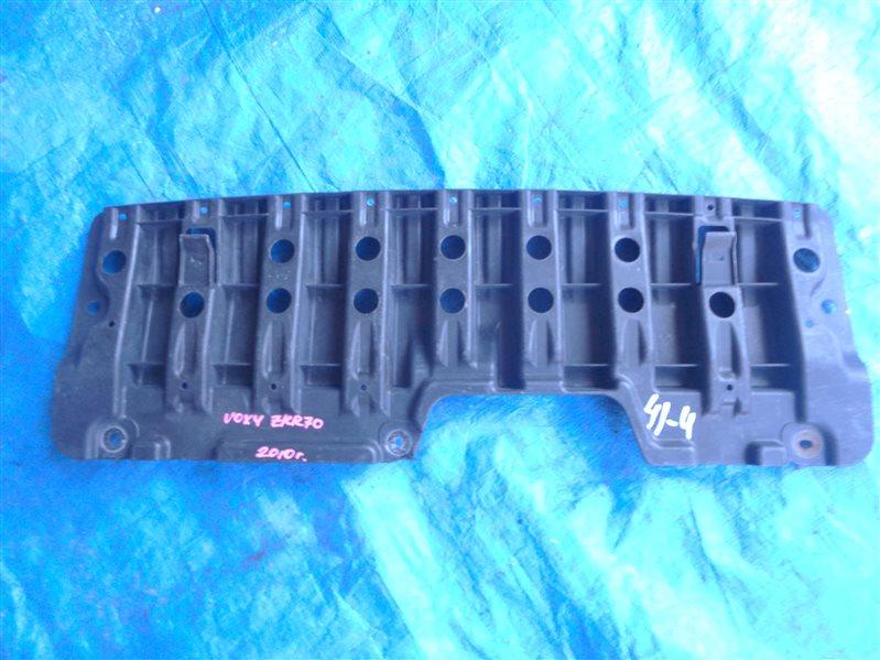 Защита бампера Toyota Voxy ZRR70 передняя (б/у)