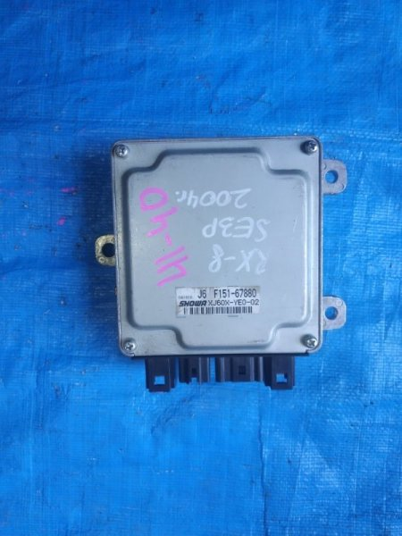 Блок управления рулевой рейкой Mazda Rx-8 SE3P 13B F151-67880 (б/у)