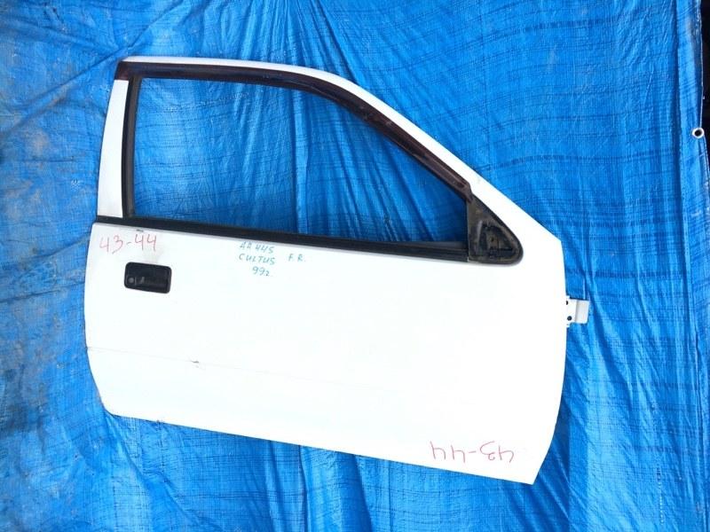 Дверь Suzuki Cultus AA34S G10 передняя правая (б/у)