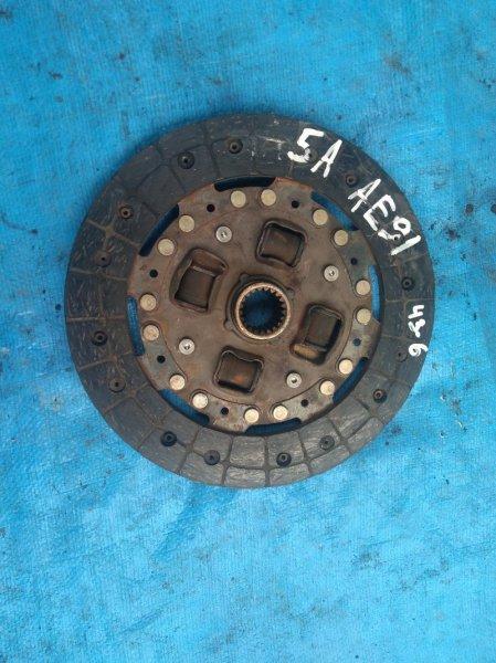 Диск сцепления Toyota Sprinter AE91 5A-F (б/у)