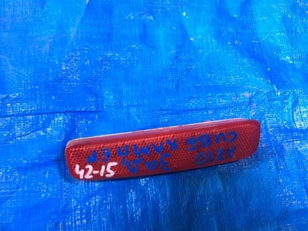 Катафот в бампер Nissan Cube AZ10 CGA3DE задний левый (б/у)