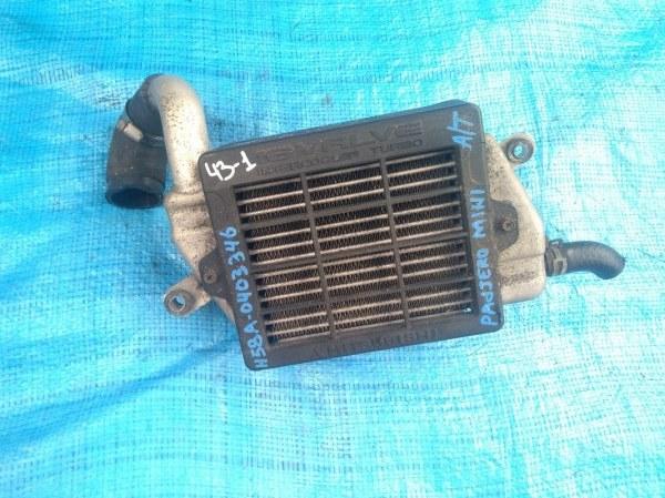 Радиатор интеркулера Mitsubishi Pajero Mini H58A 4A30 (б/у)