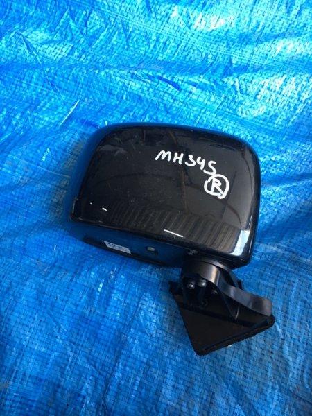 Зеркало Suzuki Wagon R MH34S R06A правое (б/у)