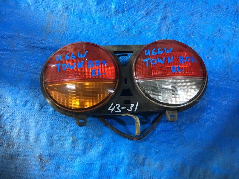 Стоп-сигнал Mitsubishi Town Box U66W 4A31 левый 220-87369 (б/у)