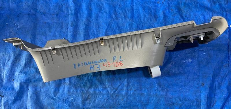 Обшивка багажника Hummer H3 задняя левая (б/у)