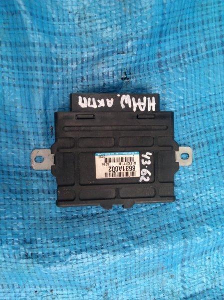 Блок управления акпп Mitsubishi I HA1W 3B20 8631A002 (б/у)