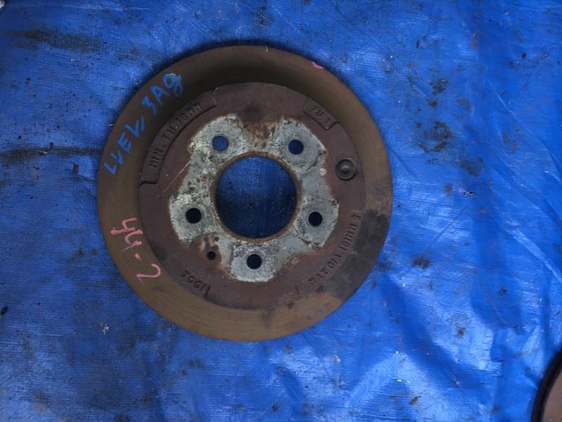 Тормозной диск Mazda Mpv LVEW задний (б/у)
