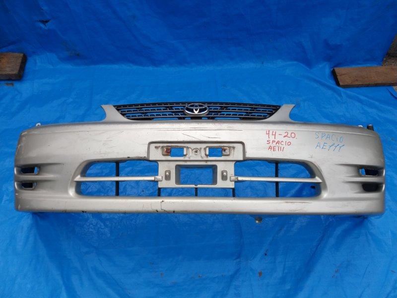 Бампер Toyota Spacio AE111 передний II MODEL (б/у)