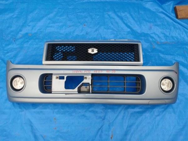 Бампер Suzuki Alto Lapin HE21S передний (б/у)