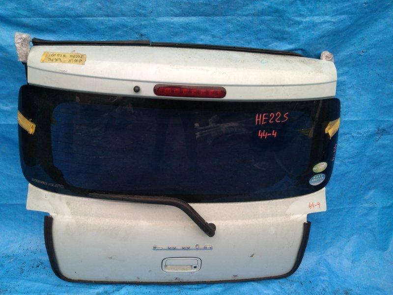 Дверь задняя Suzuki Alto Lapin HE22S K6A (б/у)