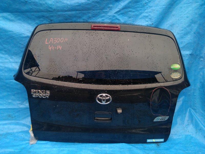 Дверь задняя Toyota Pixis Epoch LA300A KF камера (б/у)