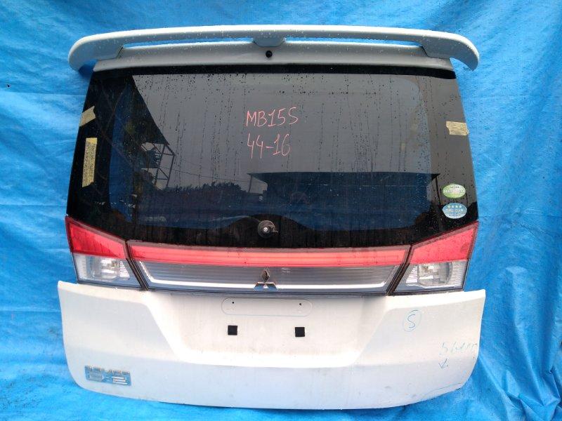 Дверь задняя Mitsubishi Delica D2 MB15 K12B camera (б/у)