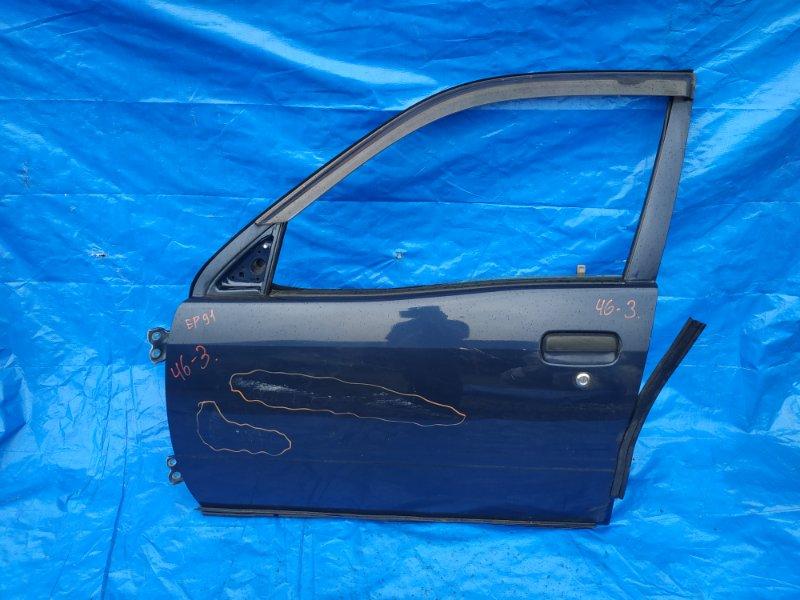 Дверь Toyota Starlet EP91 передняя левая 5 DOOR, mex (б/у)