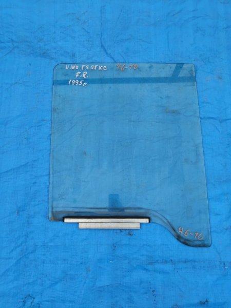 Стекло двери Hino Profia FKCFS3 переднее правое (б/у)