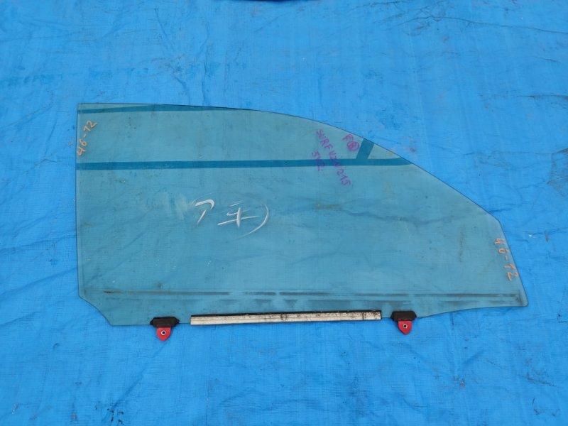 Стекло двери Toyota Surf VZN215 5VZ-FE переднее правое (б/у)