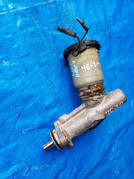 Главный тормозной цилиндр Honda City AA ER (б/у)
