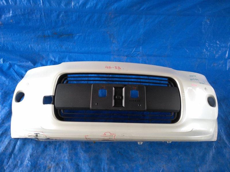 Бампер Toyota Porte NCP145 2NR-FKE передний SONAR (б/у)