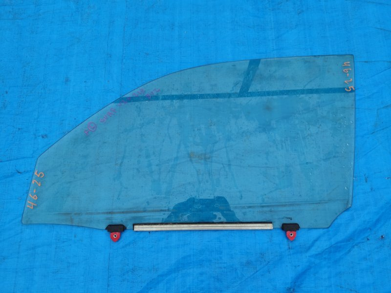 Стекло двери Toyota Surf VZN215 переднее левое (б/у)