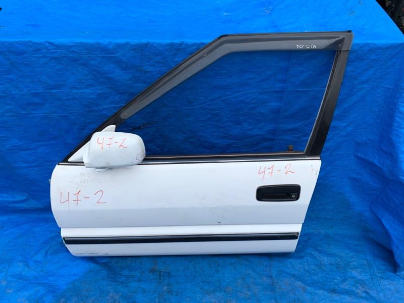 Дверь Toyota Sprinter AE91 передняя левая (б/у)