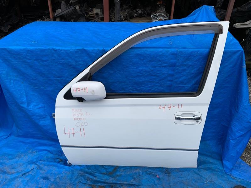 Дверь Toyota Vista Ardeo SV50 3S-FE передняя левая (б/у)
