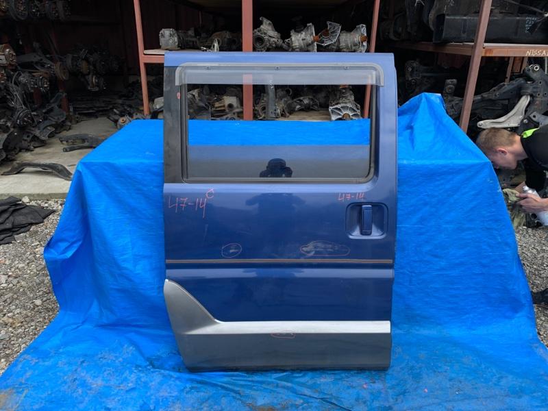 Дверь Mitsubishi Town Box Wide U66W 4A31 задняя правая (б/у)