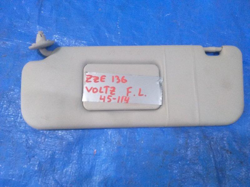 Козырек солнцезащитный Toyota Voltz ZZE136 (б/у)