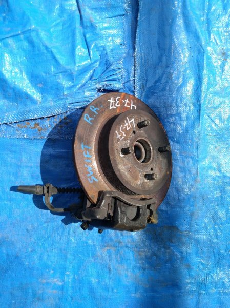 Тормозной диск Suzuki Swift HT81S M15A задний (б/у)