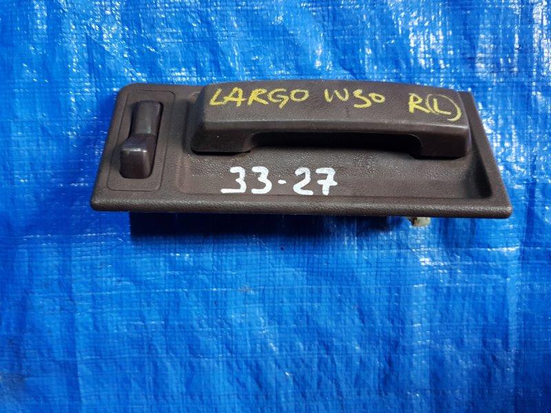 Ручка двери внутренняя Nissan Largo NW30 задняя левая (б/у)