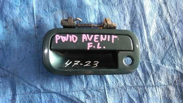 Ручка двери Nissan Avenir PW10 передняя левая (б/у)