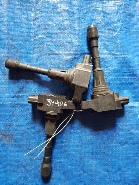 Катушка зажигания Nissan Murano PNZ51 VQ35DE 22448-JA10C (б/у)
