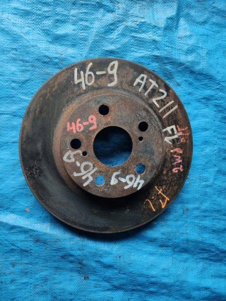 Тормозной диск Toyota Premio AT211 передний (б/у)
