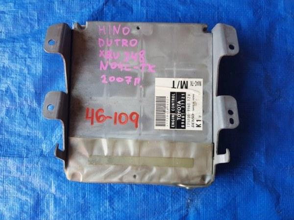 Блок efi Hino Dutro XZU304 N04C 2006 175800-9960 (б/у)