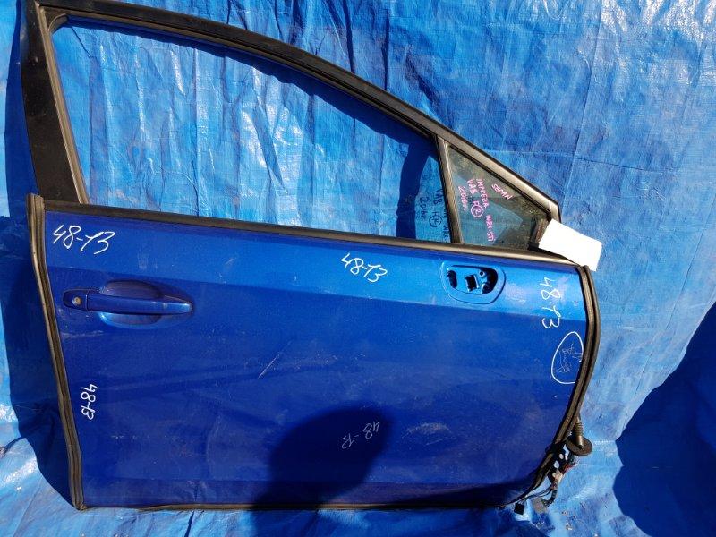 Дверь Subaru Impreza Wrx Sti VAB 2016 передняя правая КРАСНАЯ СТРОЧКА (б/у)