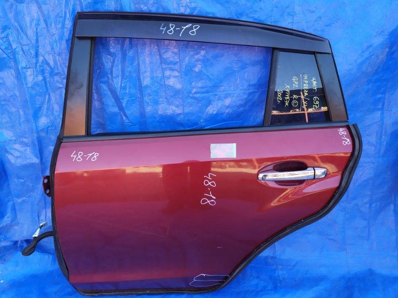 Дверь Subaru Xv GP FB16 задняя левая (б/у)
