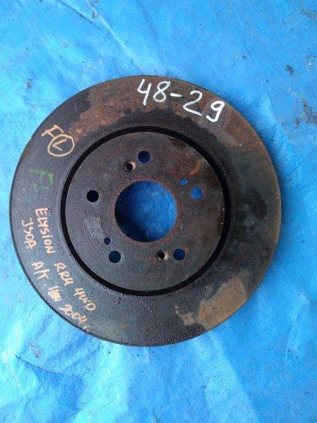 Тормозной диск Honda Elysion RR4 J30A передний (б/у)