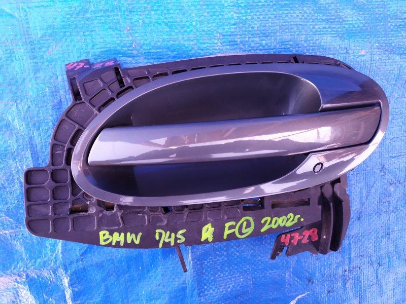 Ручка двери Bmw 7-Series E65 N62B44A 2002 передняя левая (б/у)