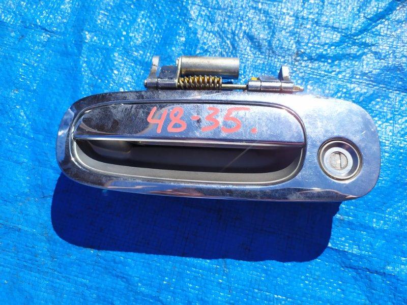 Ручка двери Toyota Sprinter AE114 передняя левая (б/у)