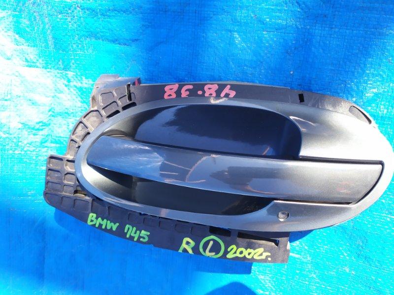 Ручка двери Bmw 7-Series E65 N62B44A 2002 задняя левая (б/у)