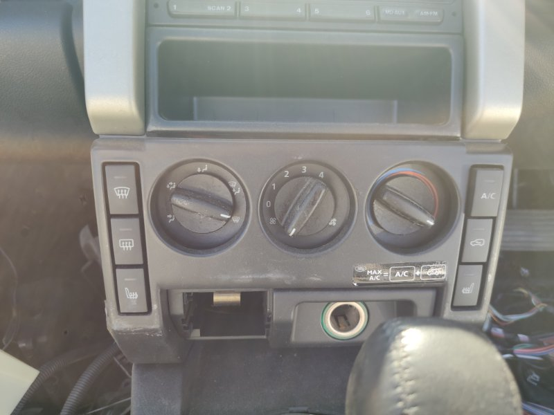Блок управления климат-контролем Land Rover Freelander L314 25K4F JFC101930 (б/у)