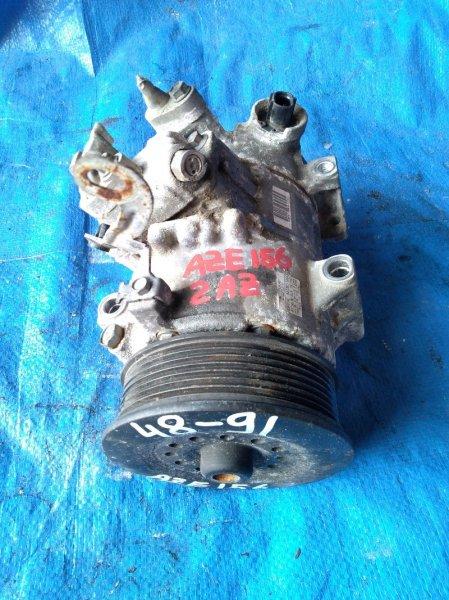 Компрессор кондиционера Toyota Blade AZE156 2AZ-FE 447260-1494 (б/у)