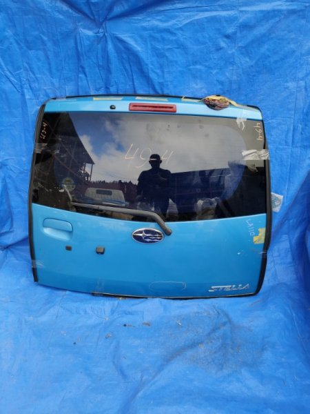 Дверь задняя Subaru Stella LA110F камера (б/у)