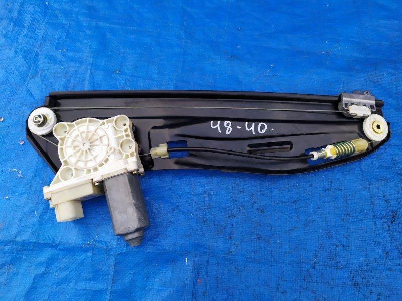 Стеклоподъемник Bmw 7-Series E65 N62B44A 2002 задний правый (б/у)