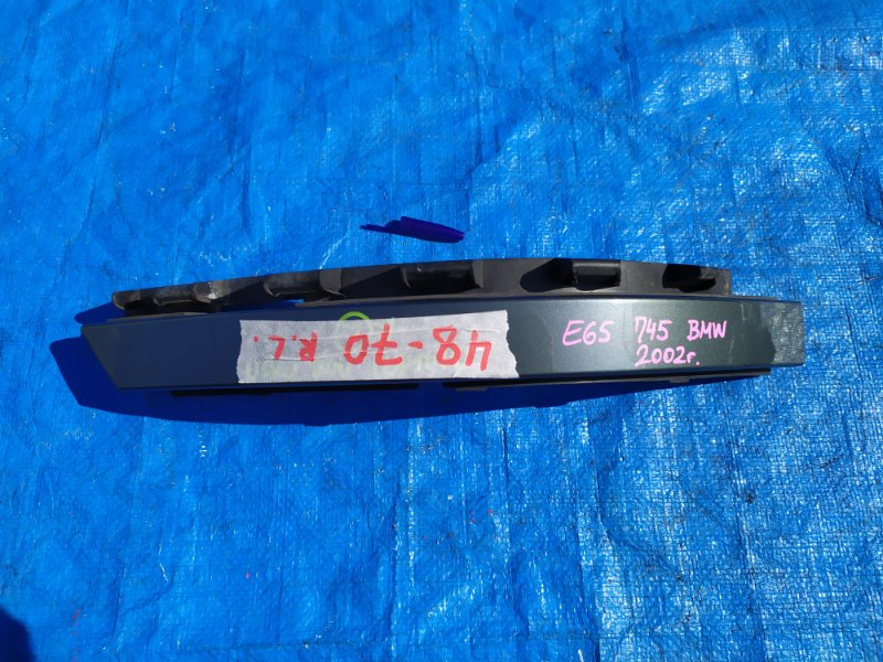 Планка под стоп Bmw 7-Series E65 N62B44A 2002 левая (б/у)