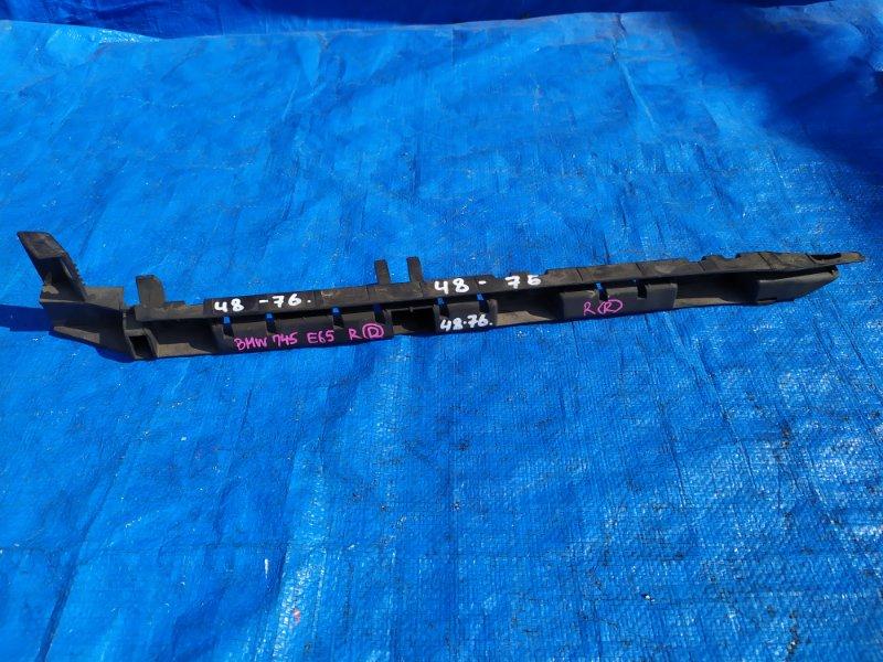 Крепление бампера Bmw 7-Series E65 N62B44A 2002 заднее правое (б/у)